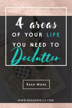 Check out these 4 areas of your life you need to declutter. Minimalism, minimalist living, simplify, declutter, simplify, #declutter #minimalism #minimalistliving #clutterfree #simpleliving
