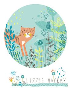 LIKE THE TECHNIQUE & CIRCLE IDEA Lizzie Mackay