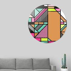 Discover «hello colors», Limited Edition Disk Print by Yahya Rifandaru - From $99 - Curioos