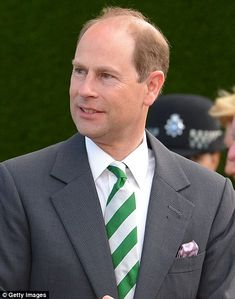 Prince Edward, Duke Of Wessex also paid a visit...