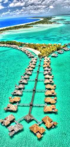 I must go to this place!!    Bora Bora. Let Us Take You There! http://www.uniglobetraveldesigners.com/