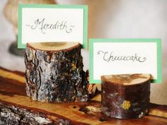 Branch Place Card Holder (75 ct) | Green Bride Guide