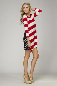 american sweetheart tunic dress