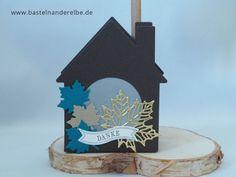 Lichthaus selber basteln aus Papier mit Stampin` Up!, basteln an der Elbe