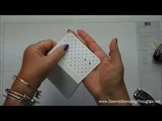 ▶ ▶ Part 2~ Box for Note cards & Envelopes with Dawn - YouTube