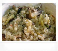 Grano spezzato con verdure appassite ... box lunch