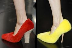 Celine-Spring-shoes-2012  fur shoes