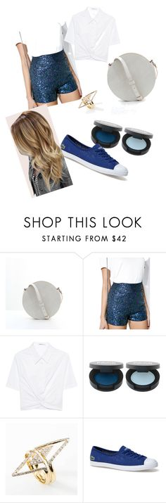 """""""Party look"""" by lisafortweens ❤ liked on Polyvore featuring T By Alexander Wang and Lacoste"""