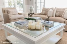 Verandah House Interiors: Coffee table styling