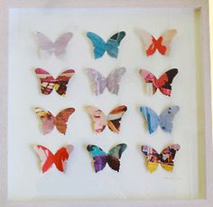 danielle oakey interiors: paper butterfly