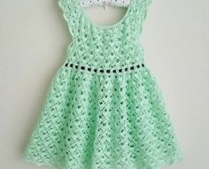 [Free Pattern] Adorable Lace Toddler Dress