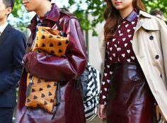 Street Style London Fashion Week Spring 2014 - love the shirt