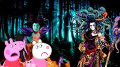 Свинка Пеппа Мультфильм детский Пеппа королева неграмотности... Peppa Pig