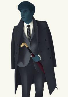 Jack Hughes Character Illustration