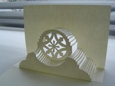 Great seeing people making my Evermon logo pop up card! Pattern is free at origamicarchitecture.org.