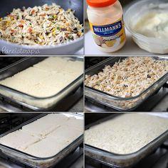 PANELATERAPIA - Blog de Culinária, Gastronomia e Receitas: Torta Gratinada de Pão de Forma