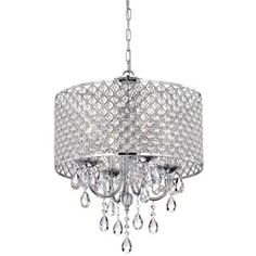 Shop for Aaryn 4 Light Drum Chandelier. Get free shipping at Overstock.com - Your Online Home Decor Outlet Store! Get 5% in rewards with Club O! - 12236752