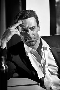 Jon Hamm as 'Don Draper' in Mad Men AMC), photo by Vincent Peters Don Draper, Jon Hamm, Mad Men, Gorgeous Men, Beautiful People, Beautiful Life, Kreative Portraits, Photographie Portrait Inspiration, Foto Art