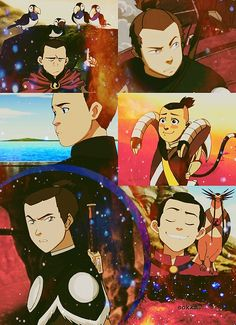 Sokka. I always feel bad for him--he has to deal with his little sister, a 12 year old, and a rebellious earth bender all the time--hey, sorta like my family! XD