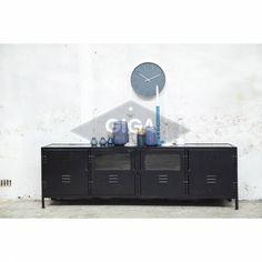 Industriële tv meubelen nu bij Giga meubel