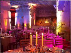 Casamento e outras festas na Cote D'Azur : Paredes que tornam seu evento Mágico