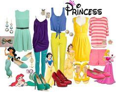 Cute princess outfits!😂