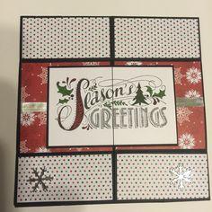 Christmas 2015 Never-ending Card - Side 1