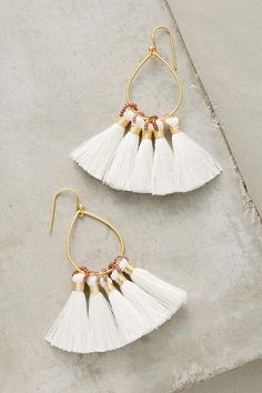 Slide View: 1: Jolie Tassel Earrings