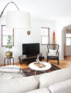 expertly styled home of blogger Erin of francios et moi / sfgirlbybay