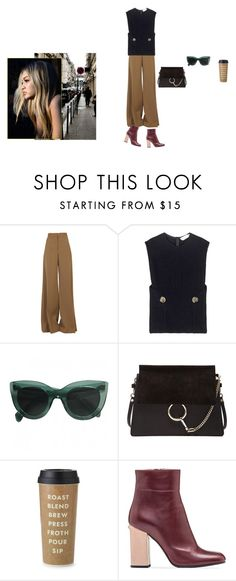 """6797"" by svetadanilova on Polyvore featuring STELLA McCARTNEY, Victoria Beckham, Chloé, Kate Spade, Marni, women's clothing, women's fashion, women, female and woman"