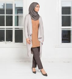 Camel Kimono Top - £39.99 : Inayah, Islamic Clothing & Fashion, Abayas, Jilbabs, Hijabs, Jalabiyas & Hijab Pins
