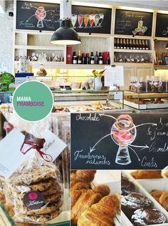 Mama Framboise - pastelería francesa en el barrio de la Justicia.