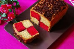 Баттенбург торт   Нож и вилка