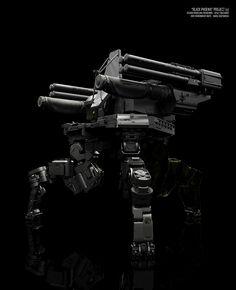 """BLACK PHOENIX"" PROJECT (10 DAYS OF MECH) Stalker by Vitaly Bulgarov - http://www.bulgarov.com"