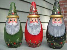 3D Cone Santa Large