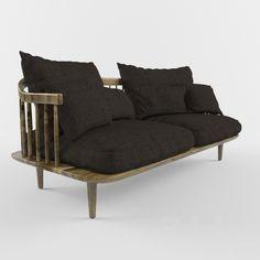 3d models: Sofa - SPACE COPENHAGEN_FLY COLLECTION