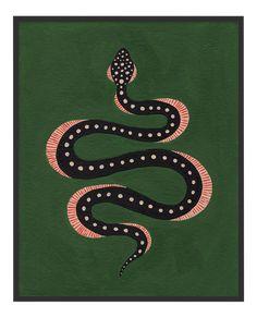 Snake Painting, Snake Drawing, Snake Art, Zoo Art, Large Art Prints, Fabric Rug, Medium Art, Decoration, Fine Art Paper
