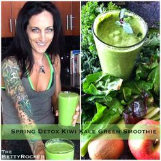 Betty Rocker | Detox and Immune Boosting Superfood Green Smoothie!