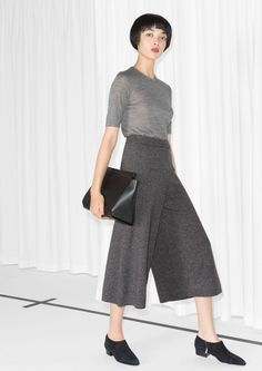 & Other Stories | Silk Blend Culottes