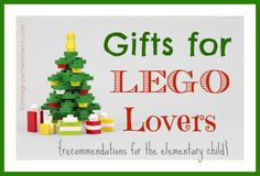 10 Best Gifts for LEGOLovers - Home - Homegrown Learners @MaryKPrather #ihsnet
