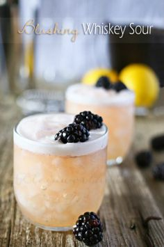 (Blushing Whiskey Sour) - Rachel Health Food Stock Photos