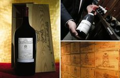 Sotheby's sold the single most expensive bottle of wine, a jereboam of 1945 Château Mouton Rothschild, for $310,700 in February of 2007 in New York. Christie's sold the most valuable case of wine, a case of 1978 Romanee-Conti, for $476,000 in Hong Kong, in November of 2013. And Sotheby's registered the record for 50 cases of 1982 Château Mouton Rothschild for $1.1 million in November of 2006