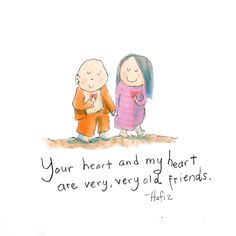 my heart and your heart {today's doodle}