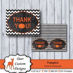 Pumpkin Birthday Thank You Notes Halloween Notecards Birthday Thank You Notes, Birthday Thanks, Thank You Note Cards, Birthday Gifts For Her, Thank You Gifts, Fall Birthday Parties, First Birthday Party Themes, Cute Gifts, Special Gifts