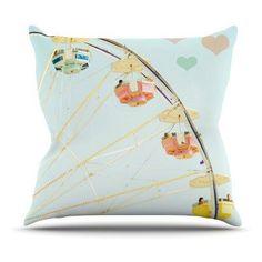 Kess InHouse Bree Madden Fair Love Indoor/Outdoor Throw Pillow - BM1023AOP02, KESS931