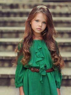 Emerald green.