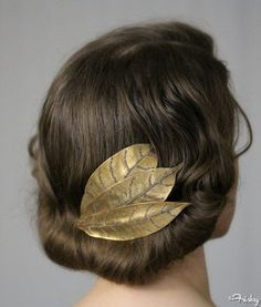 Grecian Hairstyles: Tucked Under Tresses