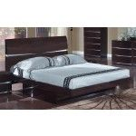 $657.00  Global Furniture - Aurora Platform Bed - Wenge - 36130B