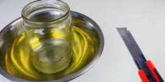 Roman Ursu is showing a simple yet effective way of perfectly cutting glass bottles using water, and either vegetable oil or engine oil.