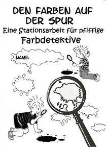 Kunstunterricht in der Grundschule, Stationsarbeiten zu Wassily Kandinsky, Paul…